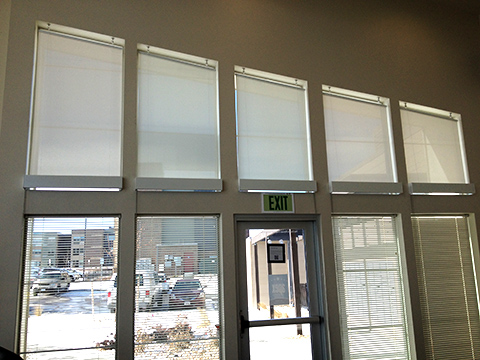 Bottom Up Roller Shades